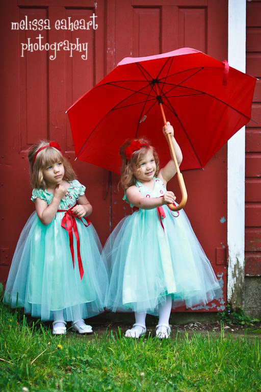 Flower girl dresses by oliviakatecouture on etsy blog quot aqua red