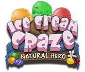 เกมส์ Ice Cream Craze - Natural Hero
