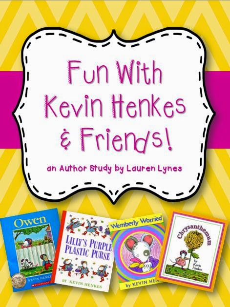 http://www.teacherspayteachers.com/Product/Fun-With-Kevin-Henkes-Friends-An-Author-Study-766612