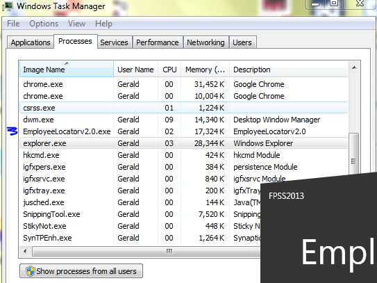 I am using windows application for my project in vbnet