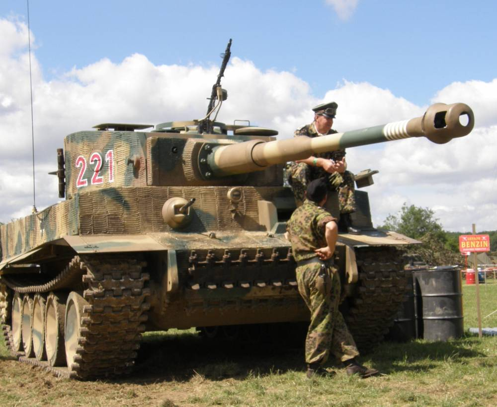 tiger tank Tiger 131, one of the tank stars of brad pitt's second world war blockbuster 'fury', will make one of its two yearly outings at the tank museum in september.