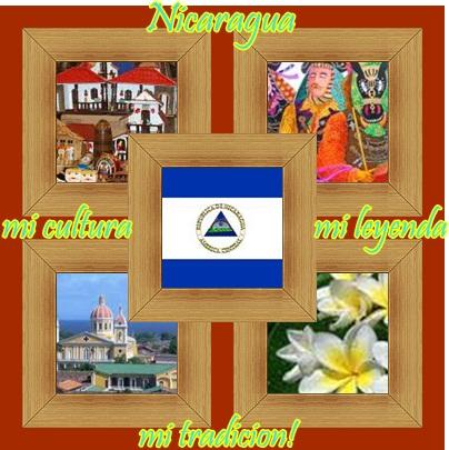 Nicaragua: mi cultura, mi leyenda, mi tradicion.