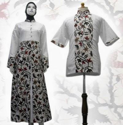 Baju Gamis Batik Modern Terbaru