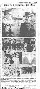 """QUOTIDIANO """"BERGAMO REPUBBLICANA""""  28 OTTOBRE 1943"""