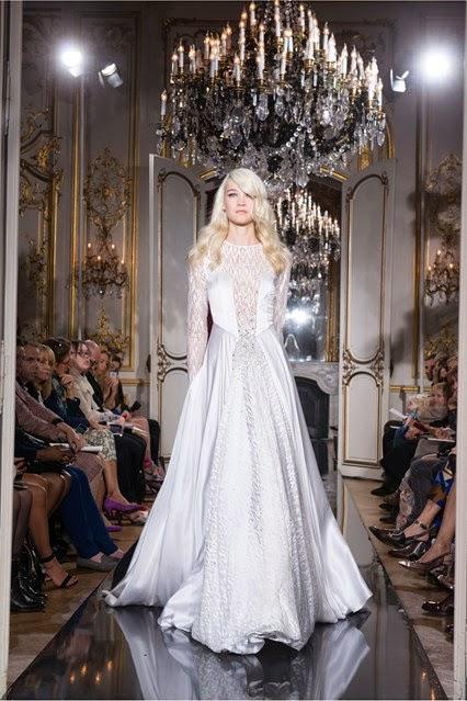 azarro fall winter 2014 2015 collection evening dress