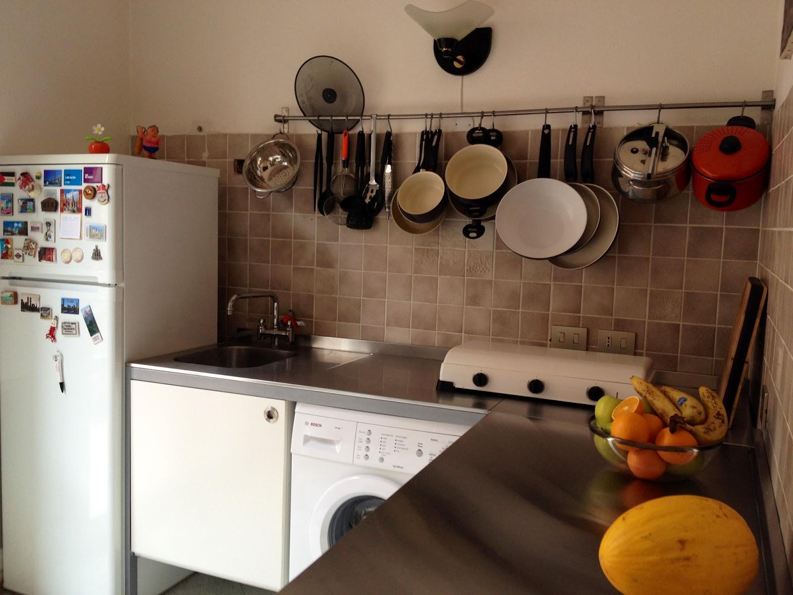 Blanca e fulvio traslocano - Ikea barra cucina ...