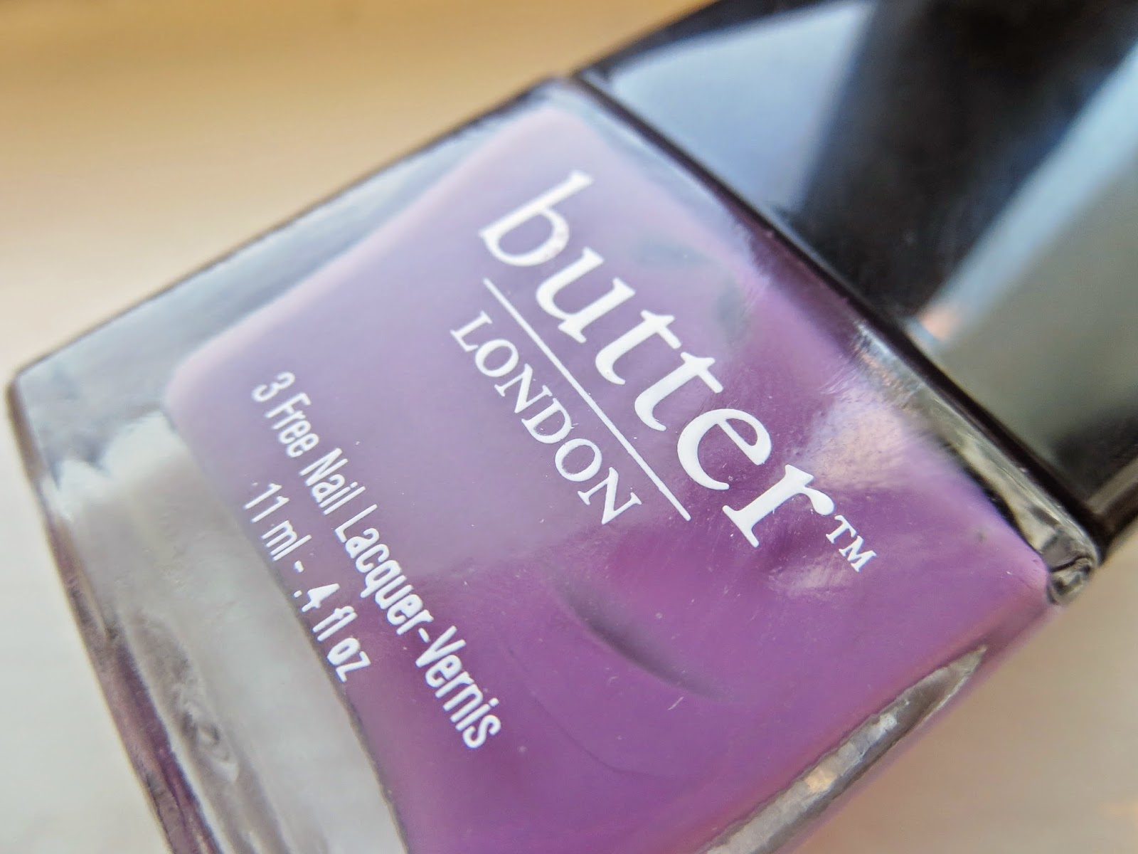 a picture of Butter London Scoundrel nail lacquer