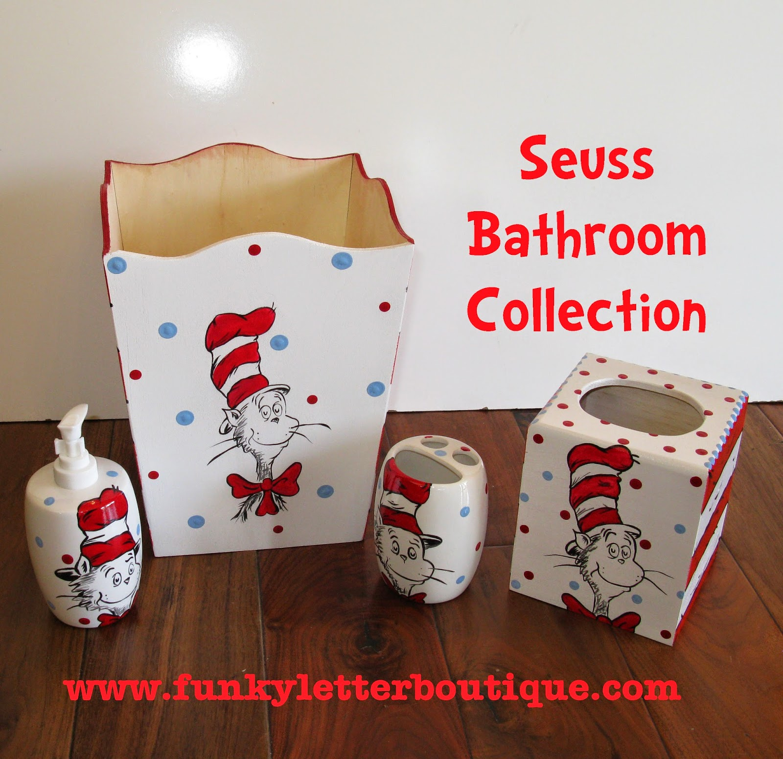 Dr Seuss Bathroom Accessories Bath Decor Sets Image