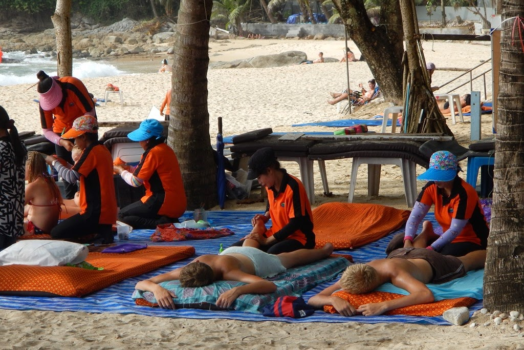 Suring Beach Phuket massage