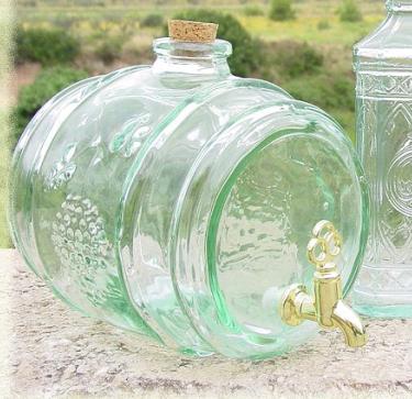 Bonbonne en verre avec robinet pas cher