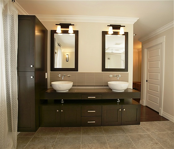 Design classic interior 2012 modern bathroom cabinets - Designs for bathroom cabinets ...