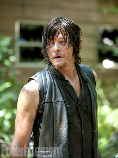Daryl Dixon (Norman Reedus) en The Walking Dead 4x10 Inmates