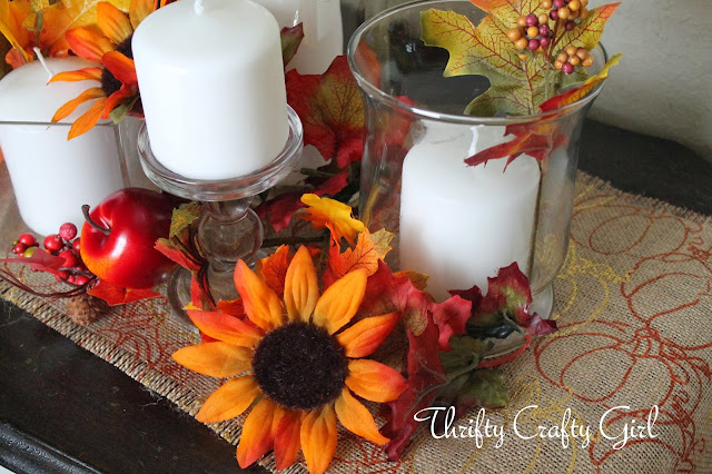 Decorating Ideas > Thrifty Crafty Girl Thanksgiving Tablescape With JoAnns  ~ 092318_Joanns Thanksgiving Decorations