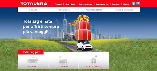 Raccolta Punti Erg 2011: catalogo premi TotalErg Più