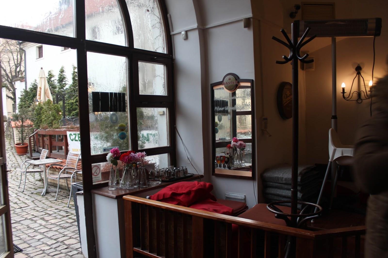 Largest non smoking restaurant in Prague