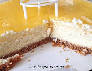Kek's Bakery Tadıtam Limonlu Cheesecake 5