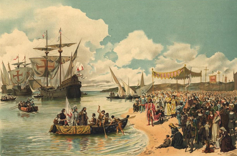 départ de Vasco de Gama vers l'inde