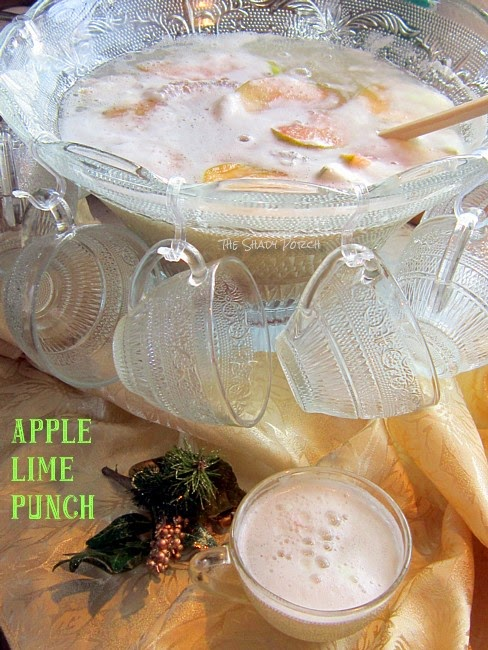 Apple Lime Punch