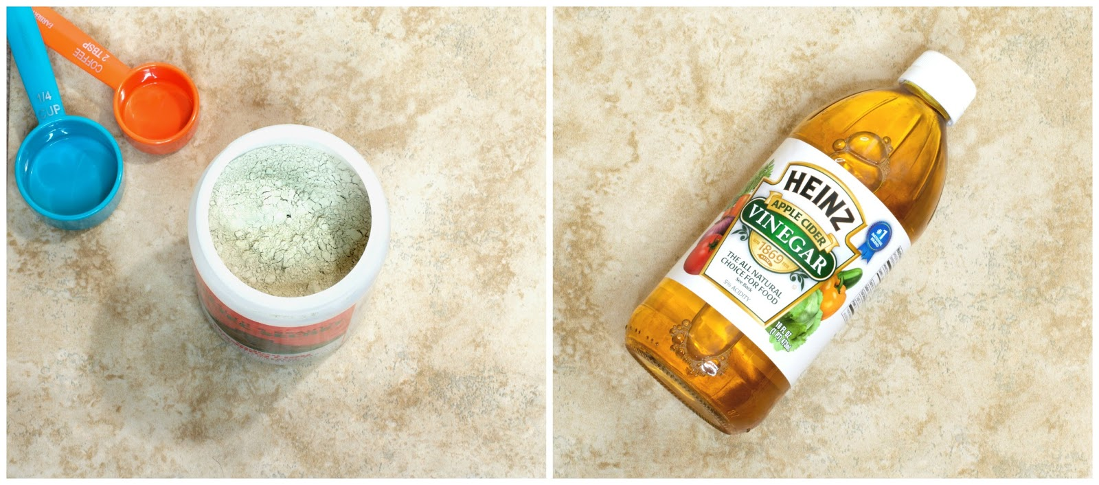 Aztec Healing Clay and Apple Cider Vinegar
