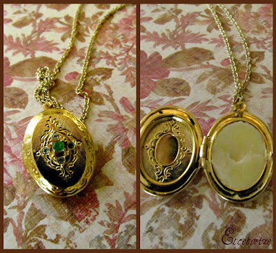 solid perfume, DIY perfume locket