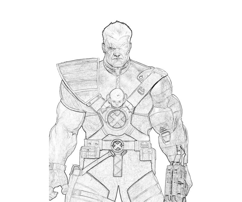 marvel-ultimate-alliance-2-cable-character-coloring-pages
