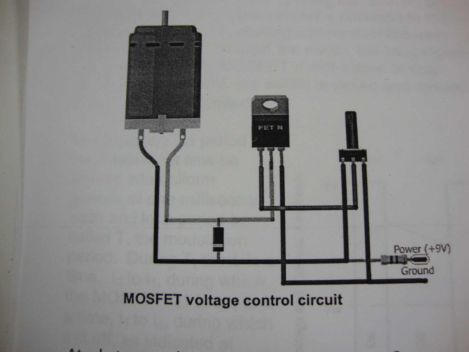 Engineering44 rkwok: Controlling Electric Motor Using MOSFET