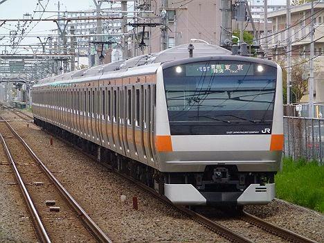 中央線 青梅特快 東京行き E233系