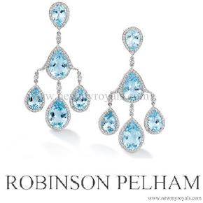 Kate Middleton Style Robinson Pelham Pagoda  Earrings