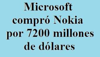 Microsoft, Nokia, 7200, Millones, Dólares,