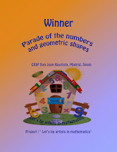 "Winners: ""Parade of figures and geometric shapes"""