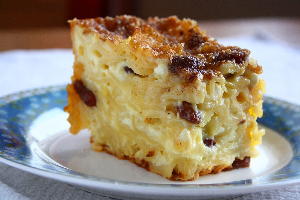 collecting memories: Sweet Noodle Kugel