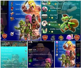 BBM Mod Chi tema Clash Of clans v2.9.0.45
