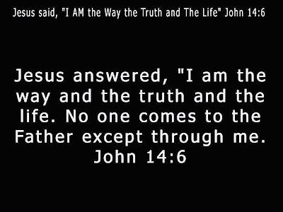 John 14:6 Bible Verse