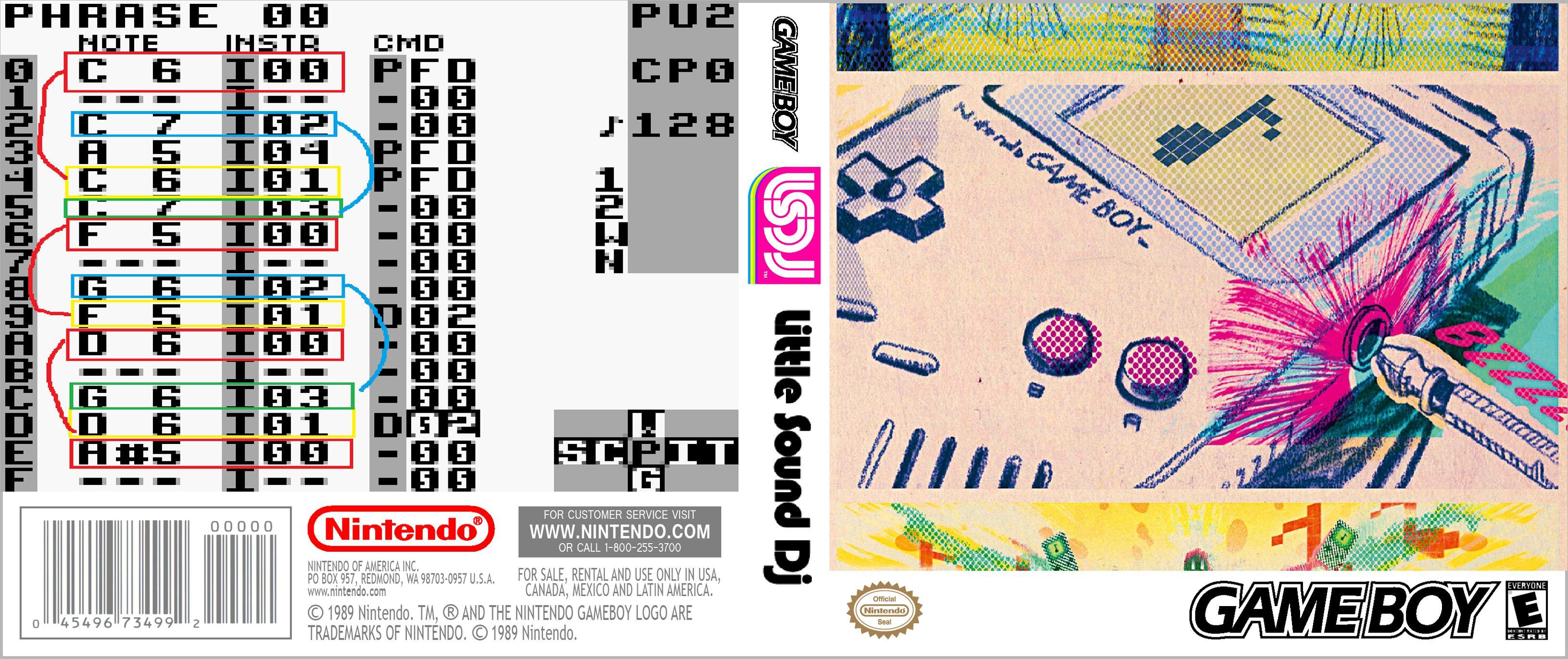 Capa LSDJ Little Sound DJ Gameboy