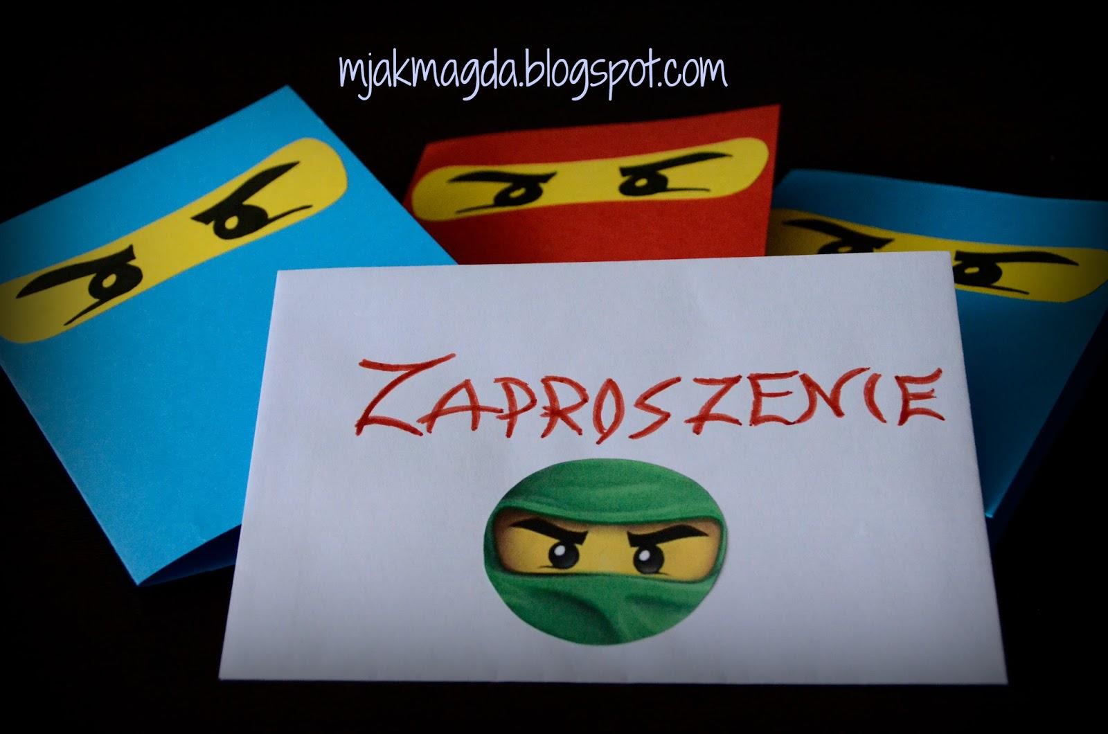 Lego Ninjago Invitations with adorable invitations example