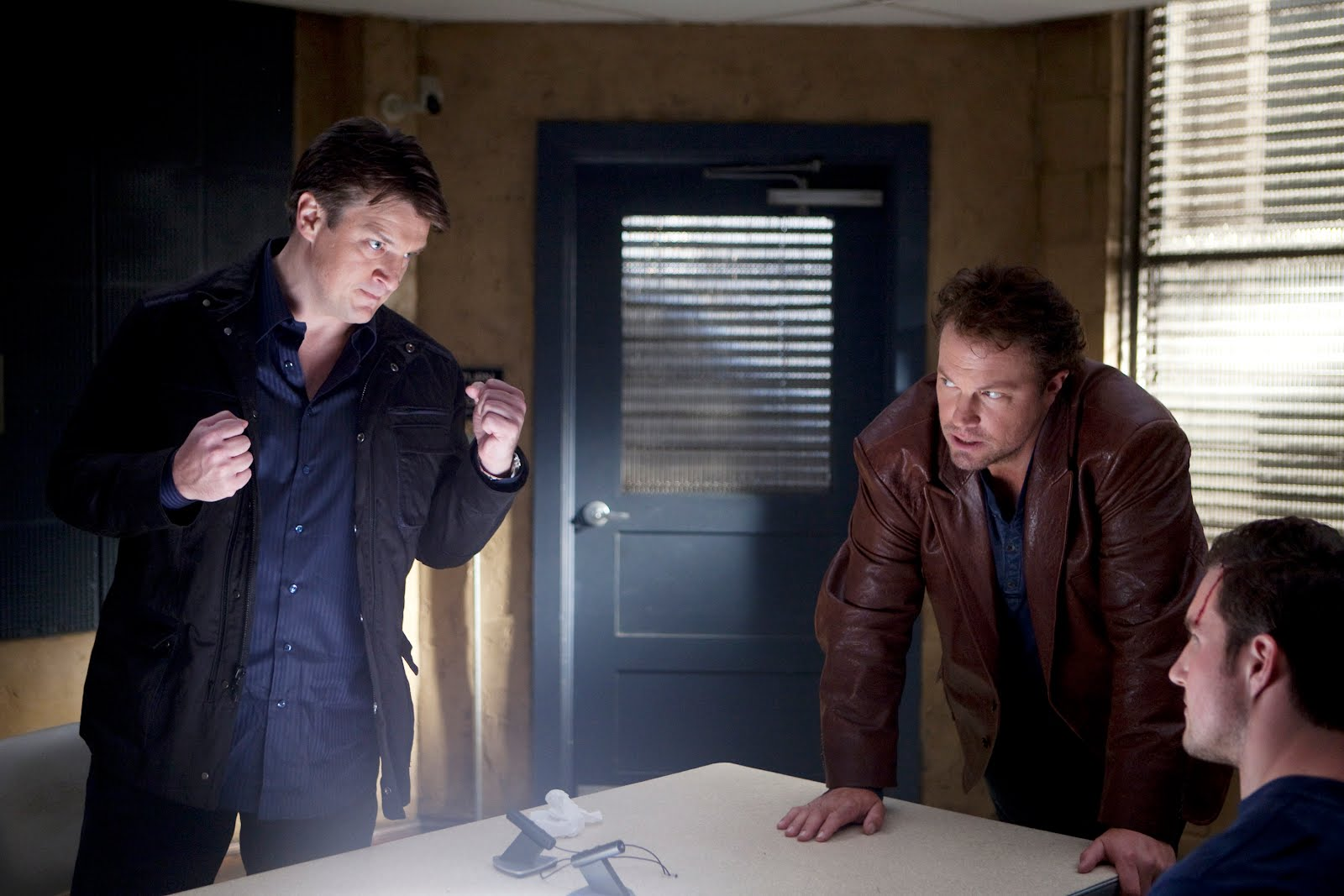 headhunters with tensions rising between castle and beckett castle