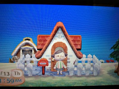 Animal Crossing New leaf House