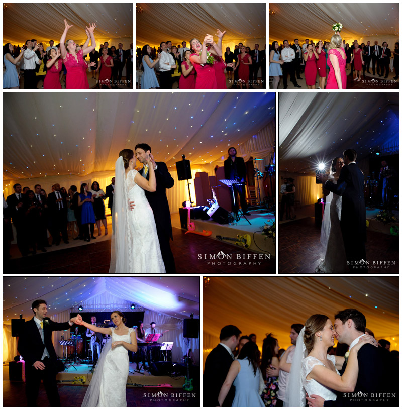 First dance wedding photography Combe House Devon