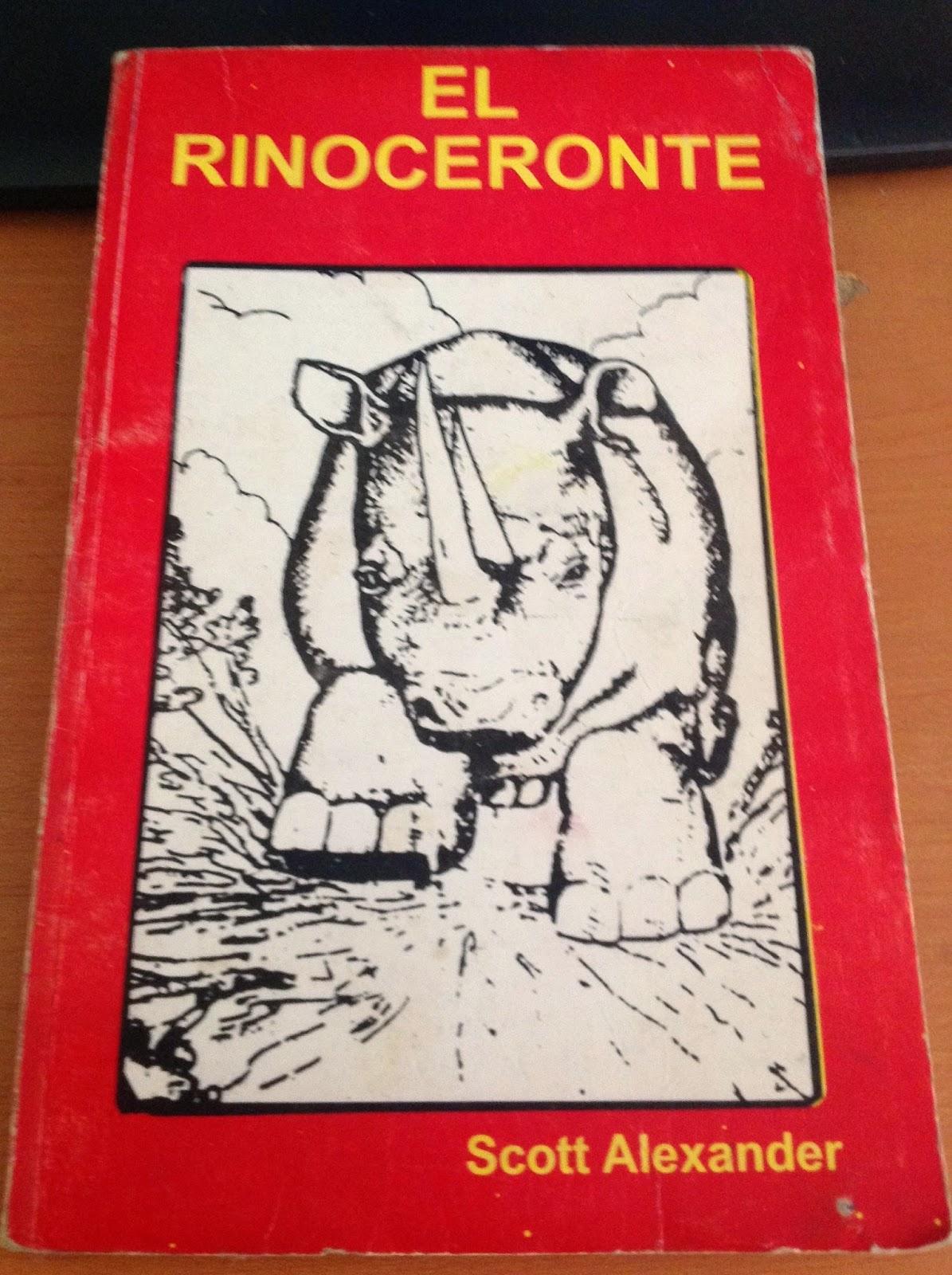 El rinoceronte scott alexander