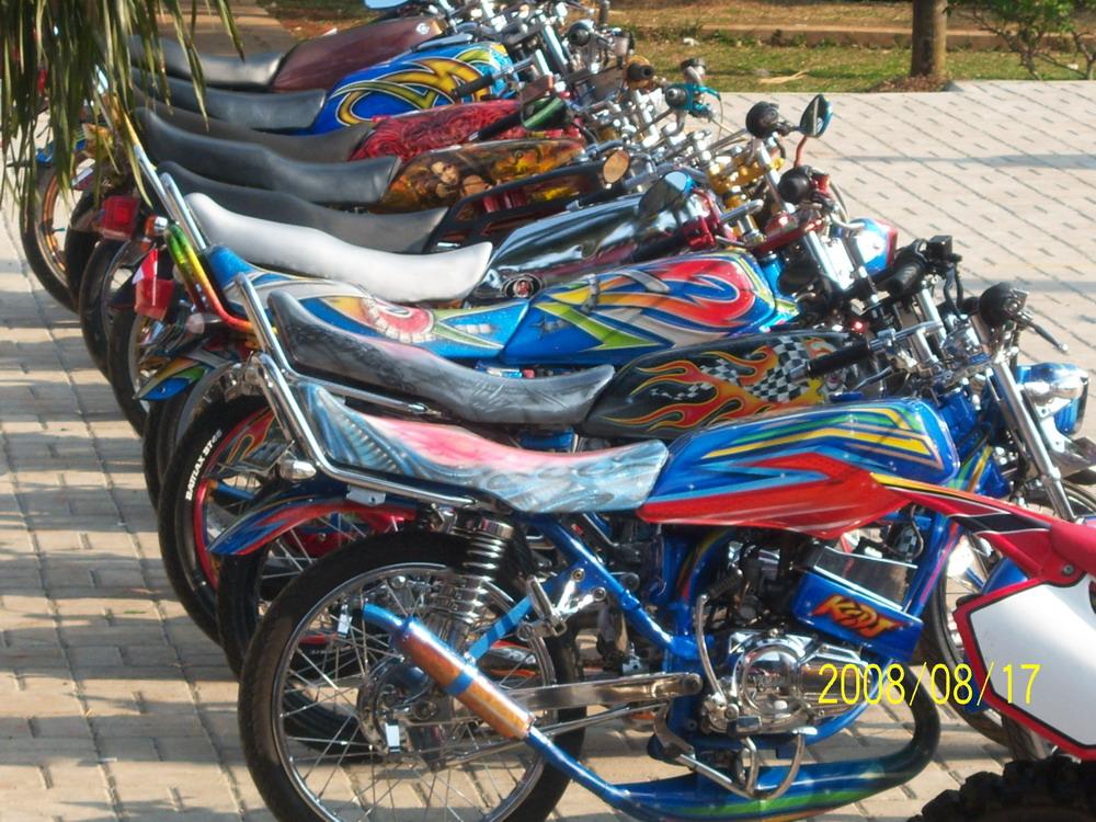 Modifikasi Keren Yamaha Rx King
