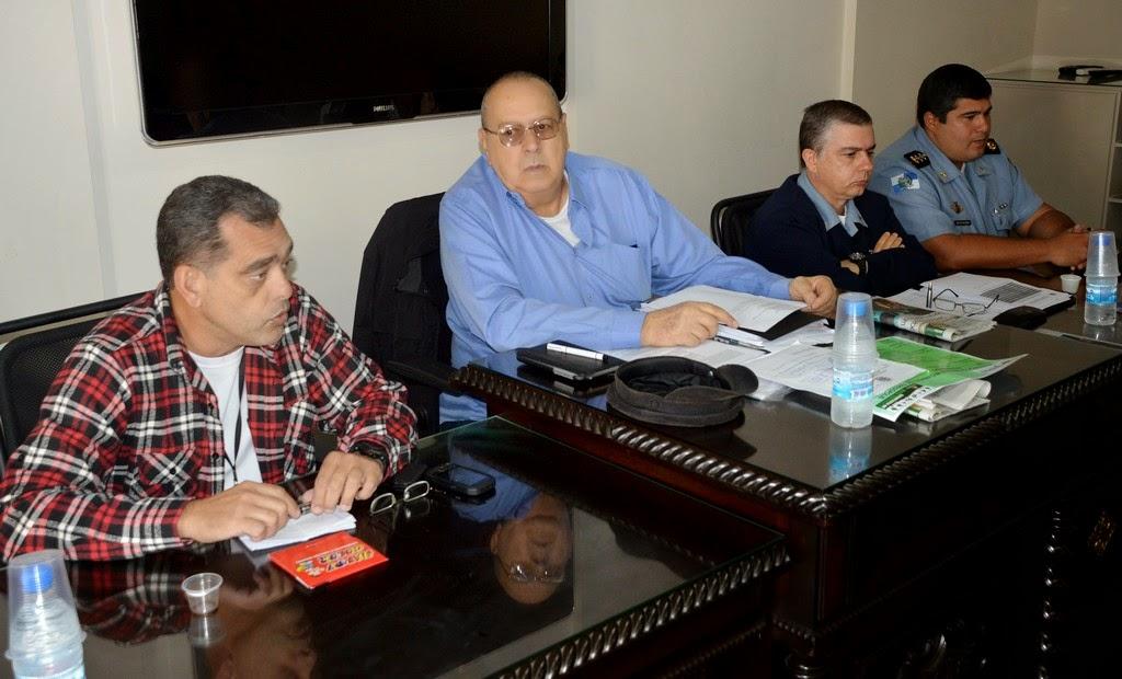 Reunião mensal do Conselho de Segurança Pública apresenta  o novo comando do 30º Batalhão de Polícia Militar, em Teresópolis 