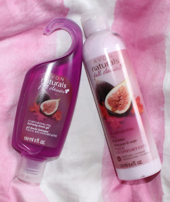 Avon Naturals Comforting Fig Hydrating Shower Gel & Body Lotion