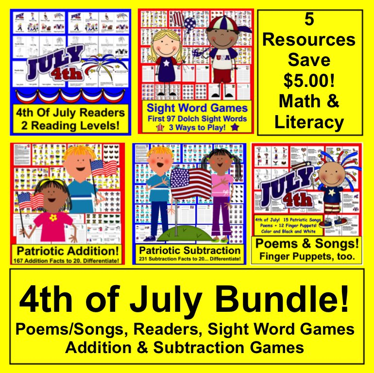 Goodbye June SALE! Summer School and 4th of July Resources… – The ...