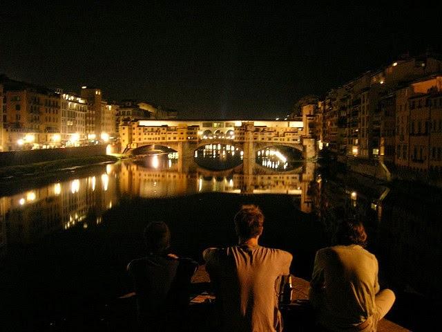 ponte vecchio Firenze notte