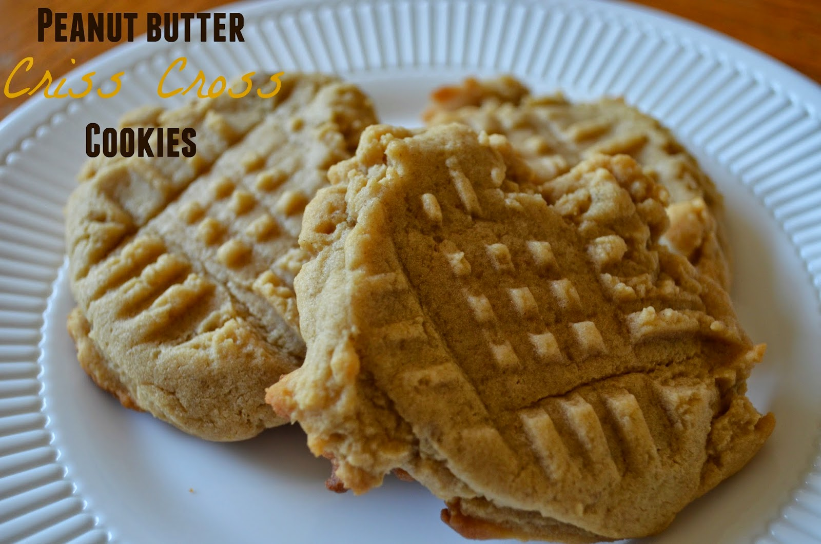 Peanut Butter Criss Cross Cookies- my grandma's recipe! #HolidayAdvantEdge #ad #recipe #cookies