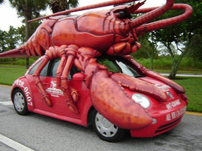 Animals shaped cars funny pictures