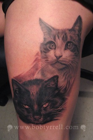 cats tattoo. Devilution Ink-Tattoos, music