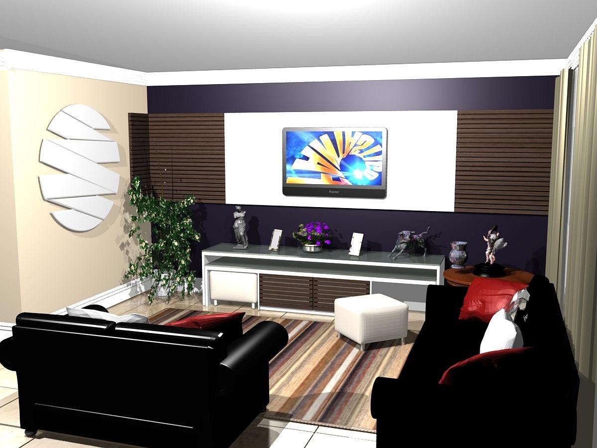 decoracao de sala grande simples:Dicas de Mulher Virtuosa: DICAS PARA SUA SALA DE TV