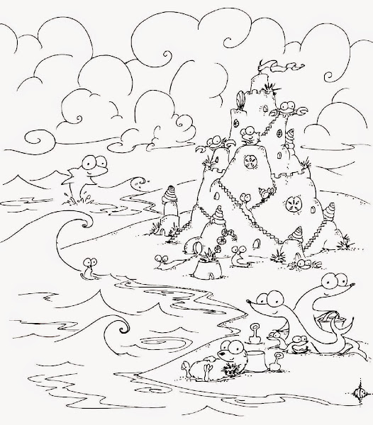 Under the sea coloring pages for preschool for Under the sea coloring pages for preschool