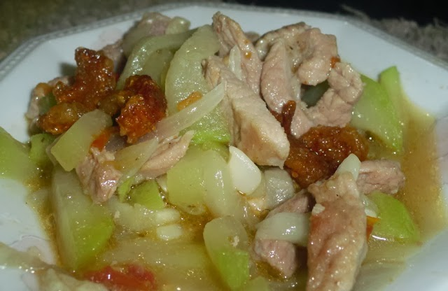 Pork Soup with Long Gourd Recipe